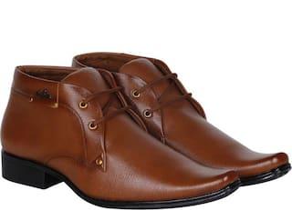 Floxtar Men's Tan Formal Shoe