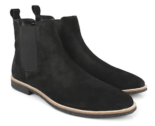 Freacksters Leather Chelsea Boots For Men