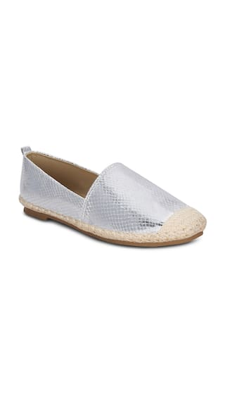Get Glamr Silver Casual Shoes