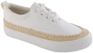 Enso Women's White Casual Shoes
