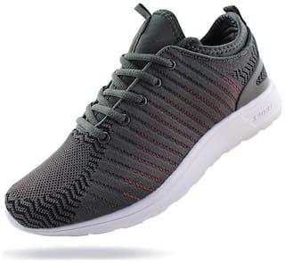 Jabasic Women Breathable Running Sneakers Lightweight Knit Mesh Walking Shoes