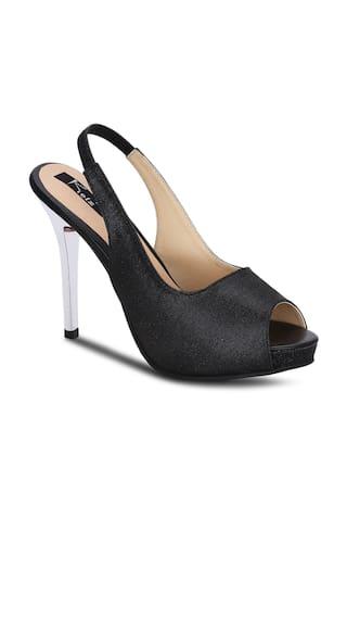 Kielz-black-slip-on-heels