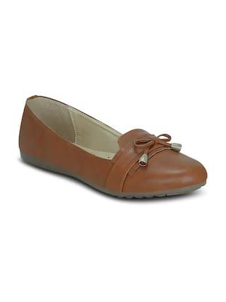 Kielz-Brown-Slip On-Flat-Women-Bellies