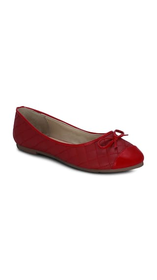 Kielz-red-synthetic-belly-shoes