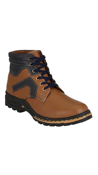 Magnolia Men's Tan Color Boot Shoes