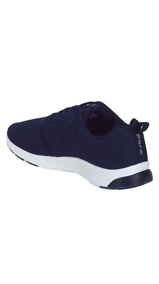 Parx Blue Flyknit Casual Shoes