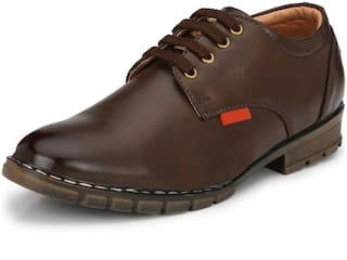 RAY J Brown Formal Shoes For Men