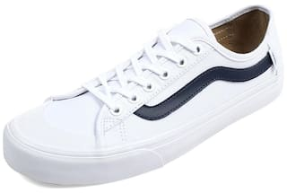 8247e75a9c Buy Vans Men Black Ball SF White Sneakers Online at Low Prices in ...