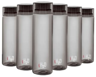 Cello H2O Bottle 1000 Ml Set Of 6Pcs