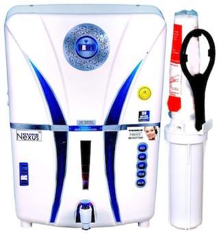 Nexus Pure  (DRIFT 3 ALKALINE) 14 ltr RO+UV+UF+TDS Electrical Water Purifier (White)