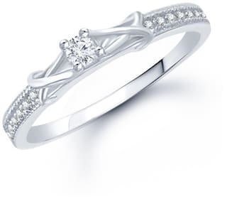 VK Jewels Silver Ring