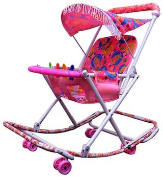 Abasr Baby Kids Dlx Fancy 2 In 1 Walker