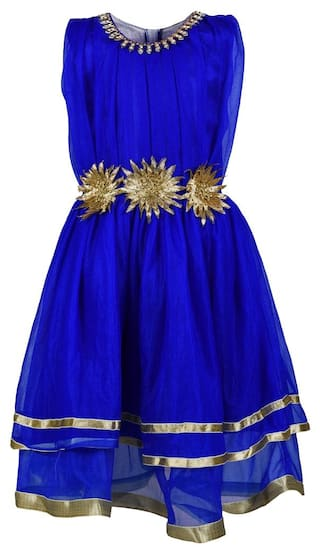 Arshia Fashions Girls Party Wear Frock Dress