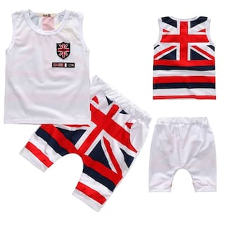99077f4495b26 Baby boy clothes set summer cotton kids clothing sets 2pc for 2-5 years old