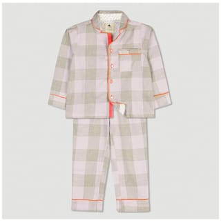 Cherry Crumble Check Greek Night Suit