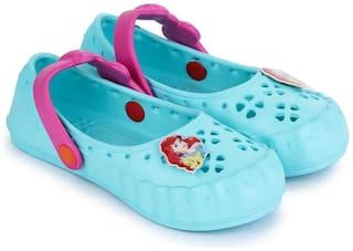 Disney Princess Green Girls Sandals