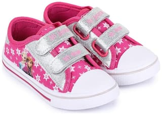 Frozen Pink Canvas shoes for boys