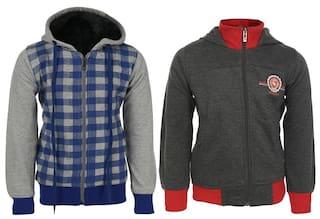 HAIG-DOT Fleece Made Sweatshirt combo for Boys