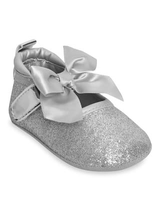 Kiwi Silver Glitter Bellies
