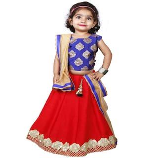 New Creation Pure Jacquard & Banglory Silk Readymade Lehenga Choli Set