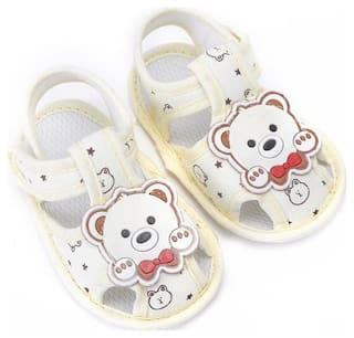 Enso Imported Infants Yellow Sandals