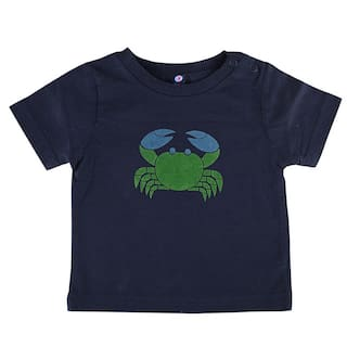 Shishu Cotton Printed T shirt for Baby Boy - Blue