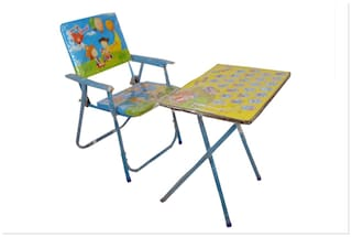 Tabu Toys World Fun Cubz Study Table And Chair Set For Kids