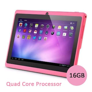 7 Android 4.4 HDMI Allwinner Tablet PC Quad Core CAMERA 4G US PINK HOT