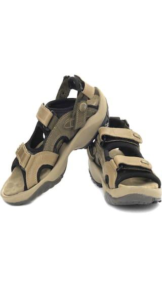Woodland GD 1033111 Camel Men Casual Sandals