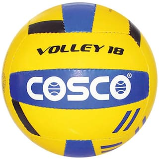 Cosco Volley 18 Volleyball-Multicolor