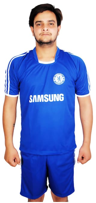 new concept 12278 c0512 Buy Navex Football Chelsea Club Jersey-Blue Online at Low ...