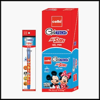 Geltech All Star Gel pen - Mickey - Set of 20 pens