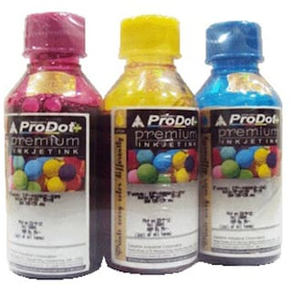 Prodot Color Ink For Use In HP Printers