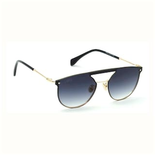 I-GOG 17015-C1 Large 62mm Black Shaded Round Sunglasses