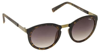 IDEE Black Shaded Round Sunglasses
