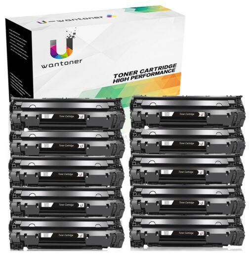85A Compatible Toner For Laserjet Pro M1132  M1212nf M1217nfw 10 Pk CE285A
