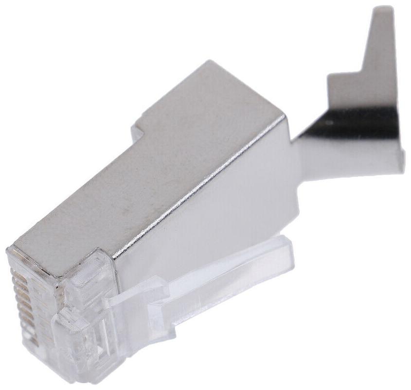 10Pcs Cat7 RJ45 connector cat 7crystal plug shielded FTP RJ45modular`connectorXS