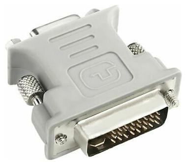 DVI-I male Analog 15-pin 24+5 to VGA Female Connector Adapter Free Shipping