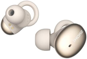 1MORE STYLISH TRUE WIRELESS EARBUDS In-ear Bluetooth Headsets ( Gold & White )