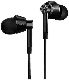 1MORE Dual Driver Earphone with Mic - Jet Black