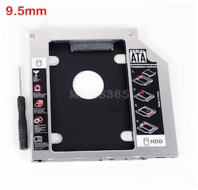 2nd HDD SSD Hard Drive Caddy Adapter for Toshiba Satellite S75-A7221 Swap SU-208