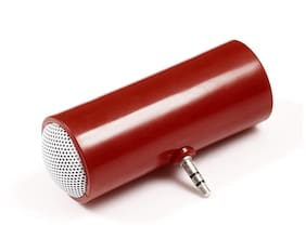 3.5mm Jack Portable Mini Speakers-Red