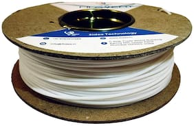 3 idea Technology PLA White Filament   1.75mm Diameter    165 Mtr Length   500g Spool  Printing Material for 3D Printer & 3D Pen