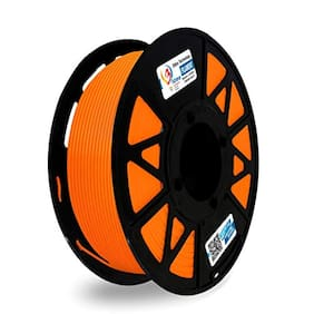3 idea Technology PETG Solid Orange Filament | 1.75mm Diameter | 330 Mtr Length | 1kg Spool |Printing Material for 3D Printer & 3D Pen