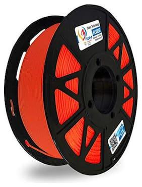 3 idea Technology ABS Red Filament | 1.75mm Diameter | 330 Mtr Length | 1kg Spool |Printing Material for 3D Printer & 3D Pen