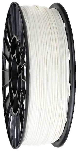 3 idea Technology ABS White Filament | 1.75mm Diameter | 330 Mtr Length | 1kg Spool |Printing Material for 3D Printer & 3D Pen