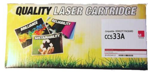 304a Compatible Magenta Toner Cartridge 1 Pack For HP CC533A LaserJet CP2025