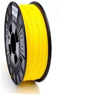 3idea Technology Yellow PLA Filament   1.75mm Diameter   330 Mtr Length   1kg Spool  Printing Material for 3D Printer & 3D Pen