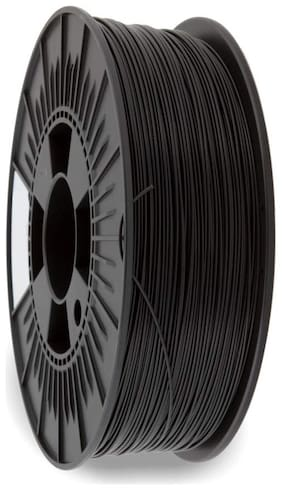 3idea Technology Black PLA Filament | 1.75mm Diameter | 330 Mtr Length | 1kg Spool |Printing Material for 3D Printer & 3D Pen
