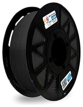 3idea Technology Black PLA Filament | 1.75mm Diameter | 330 Mtr Length | 1kg Spool |Printing Material for 3D Printer & 3D Pen